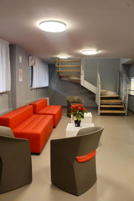 Appealing studio in a residence, in Lingotto
