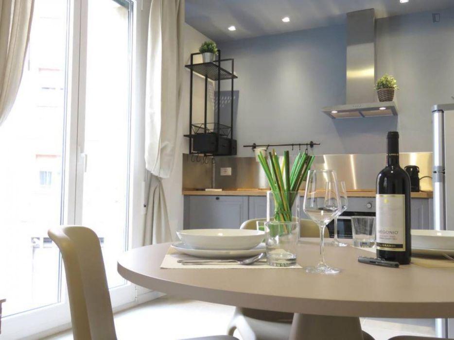 Bright 1-bedroom apartment in Bologna city centre