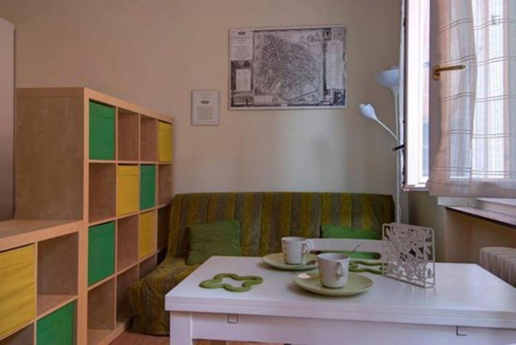 Amazing 1-bedroom apartment near Piazza Maggiore
