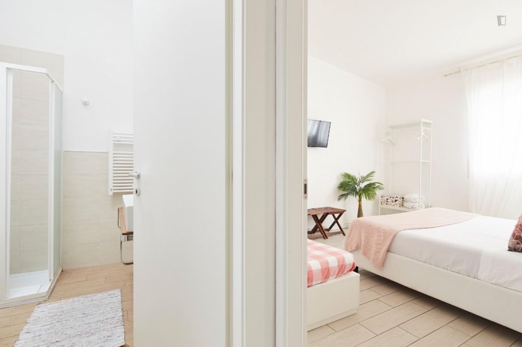 2-bedroom apartment, with outdoor area