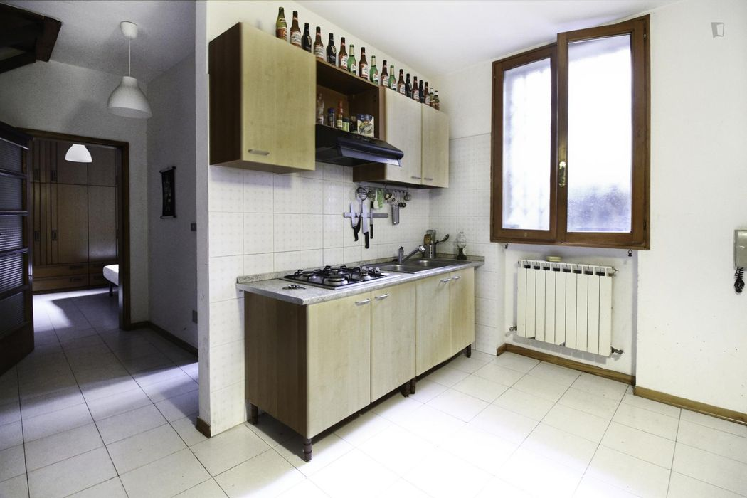 Charismatic double bedroom close to Università degli Studi di Bologna - Dipartimento di Musica e Spettacolo.