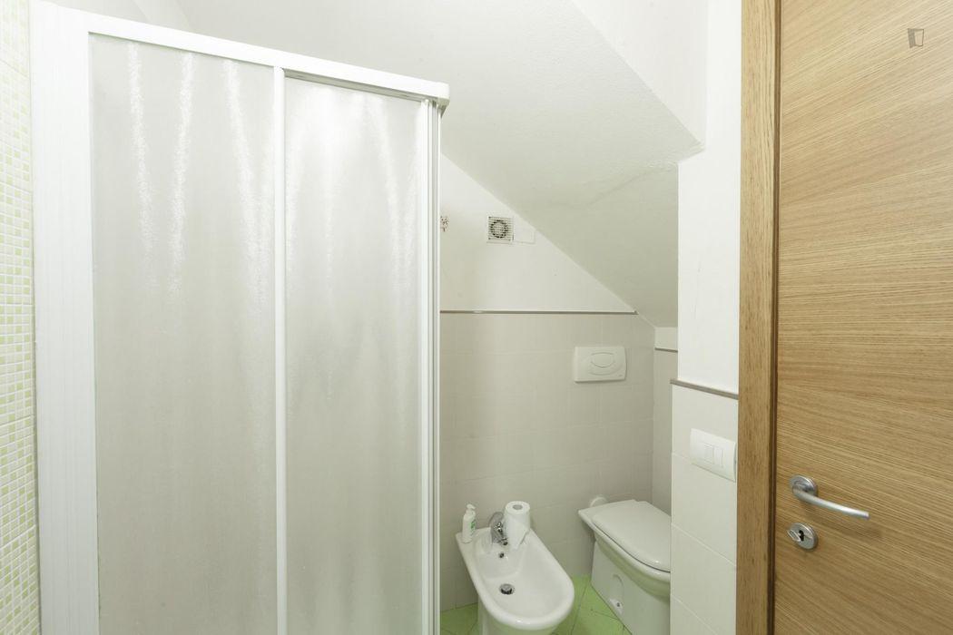 Simple single bedroom in a 3-bedroom apartment near Facoltà di Medicina e Chirurgia