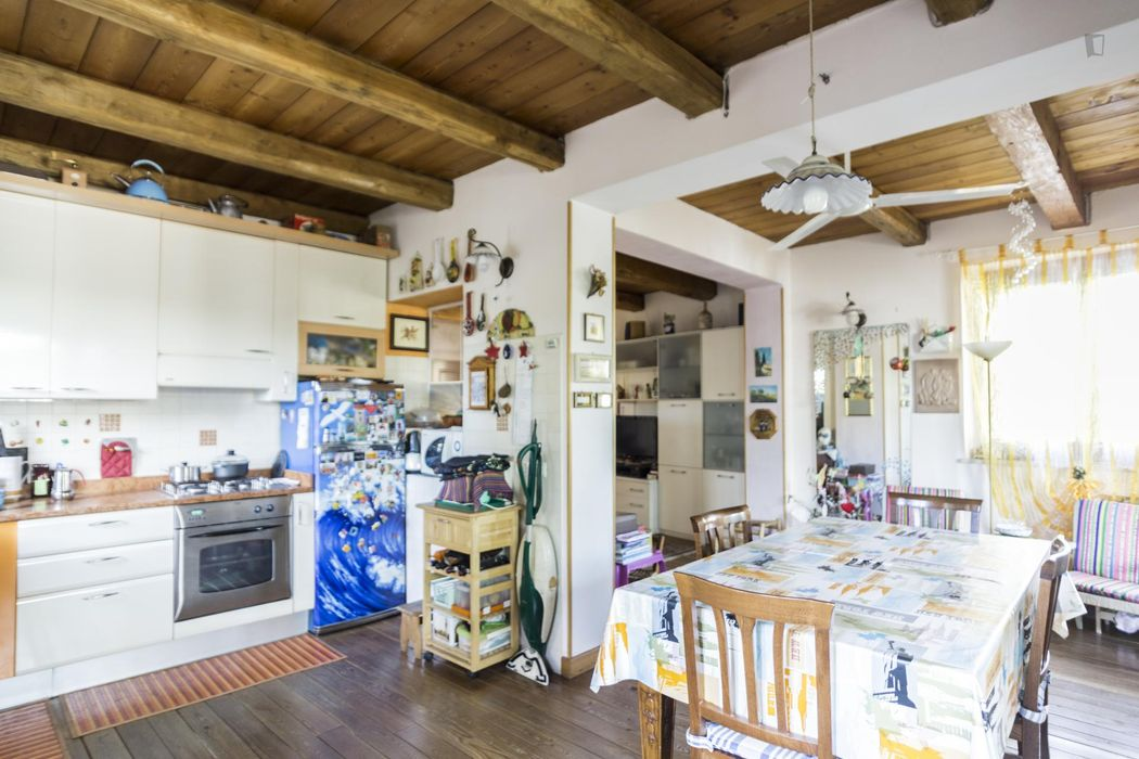 Homely twin bedroom in Coverciano