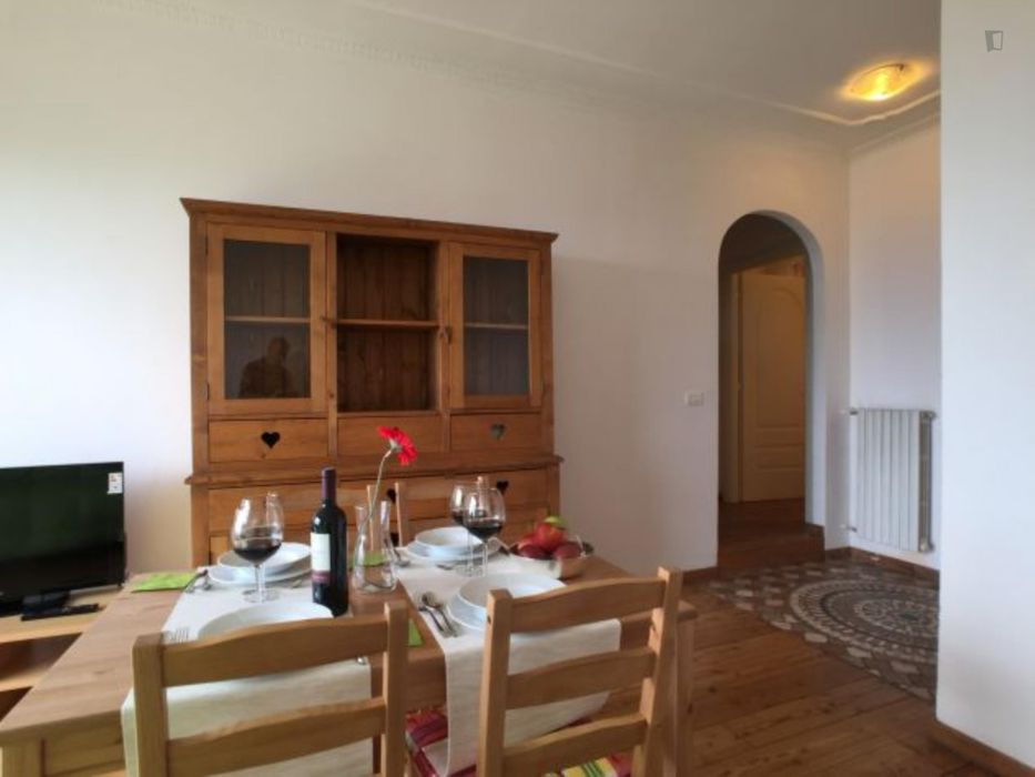 Comfy 1-bedroom flat with garden area in Pino Torinese