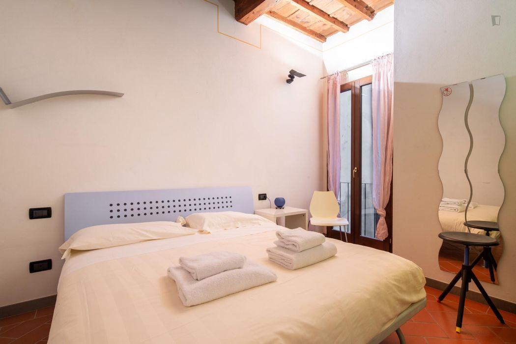Pleasant 2-bedroom flat in San Frediano
