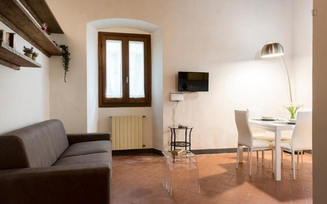 Lavish 1-bedroom apartment in Santa Croce