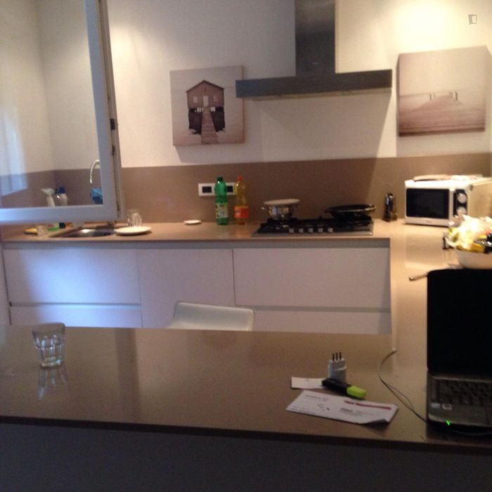 Charismatic single bedroom in a nice 2-bedroom flat, in Gaibola