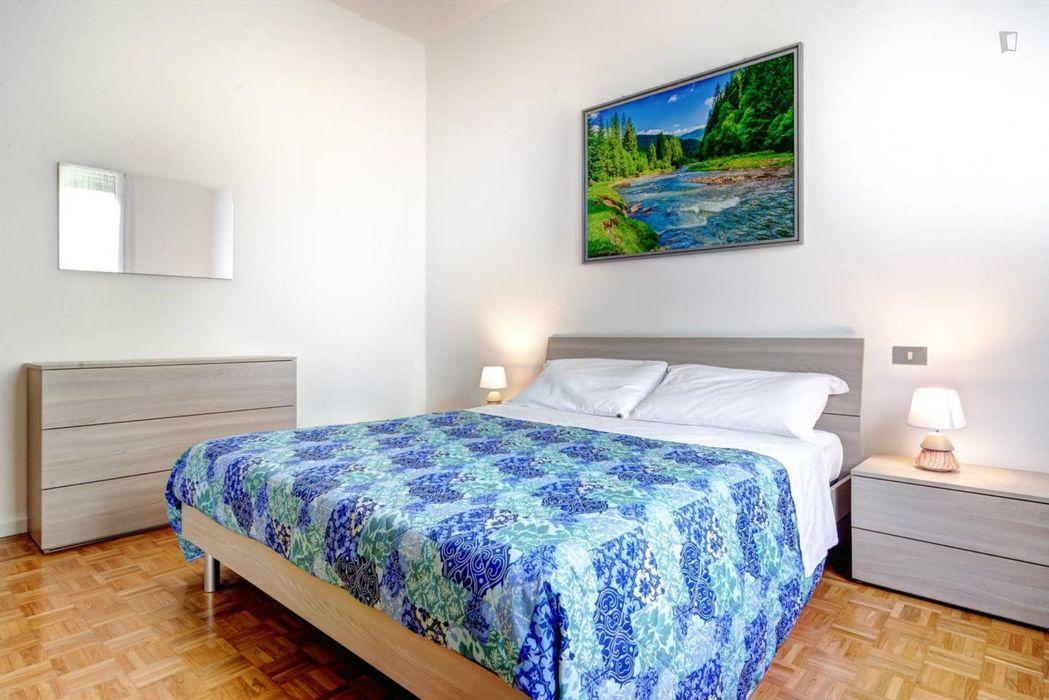 Beautiful 3-bedroom apartment close to Parco degli Artisti