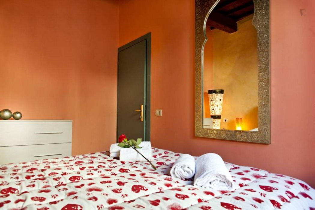 Spacious 2-bedroom apartment in Florence city centre