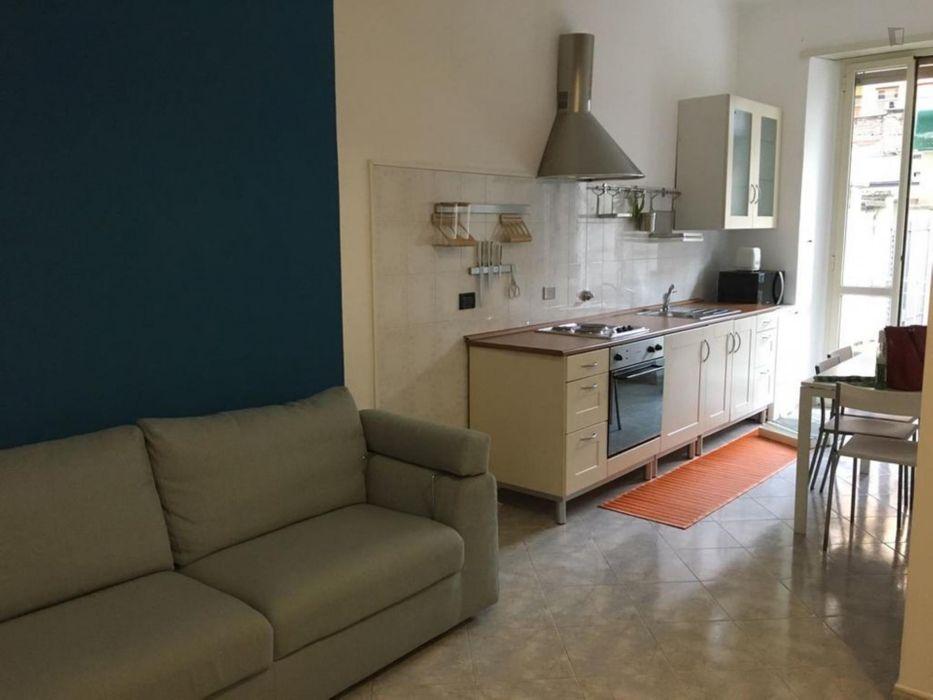 Cool 1-bedroom apartment in Lingotto neighbourhood