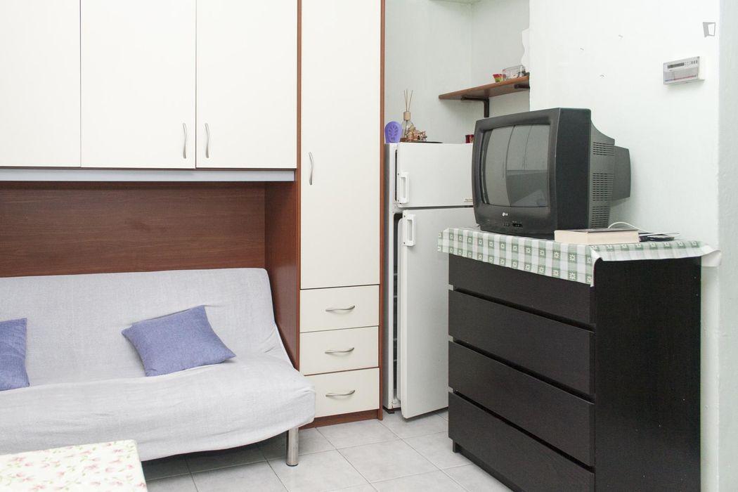 Affordable studio in Borgo Vittoria