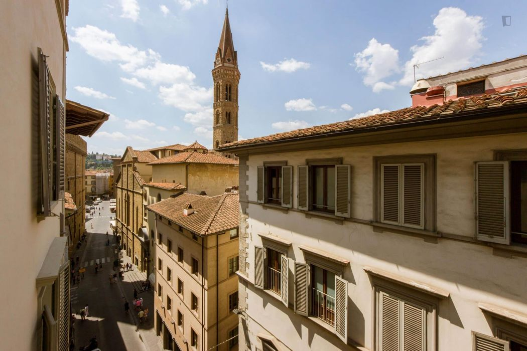 Luxury 1-bedroom apartment in Florence city centre