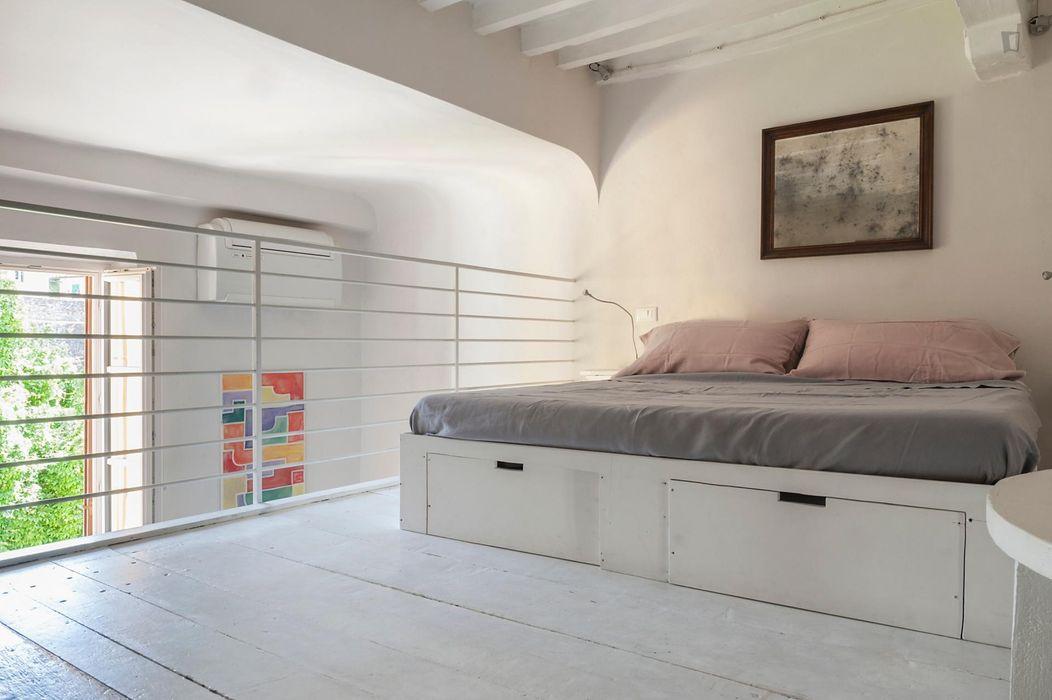 Cool 1-bedroom apartment near Porta San Miniato