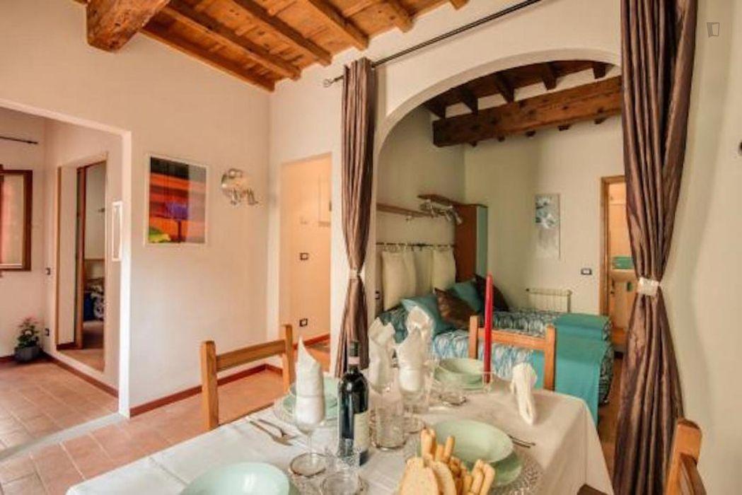 Elegant 2-bedroom apartment near the Facoltà di Architettura