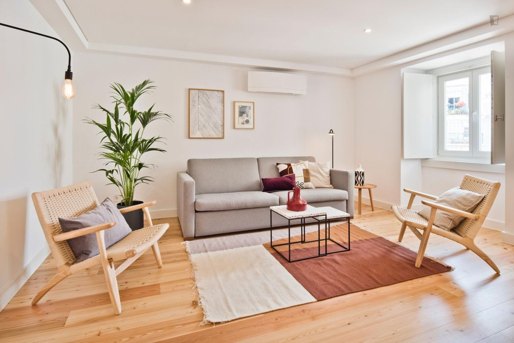 1-bedroom apartment close to Martim Moniz metro station