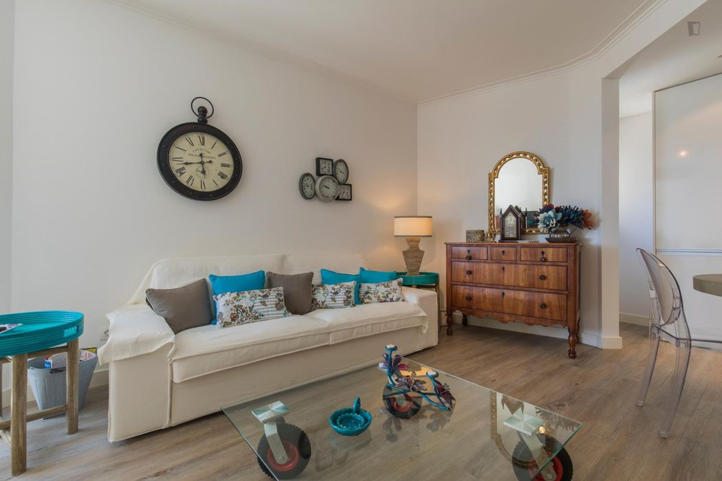 Comfy 2-bedroom apartment in Campo de Ourique