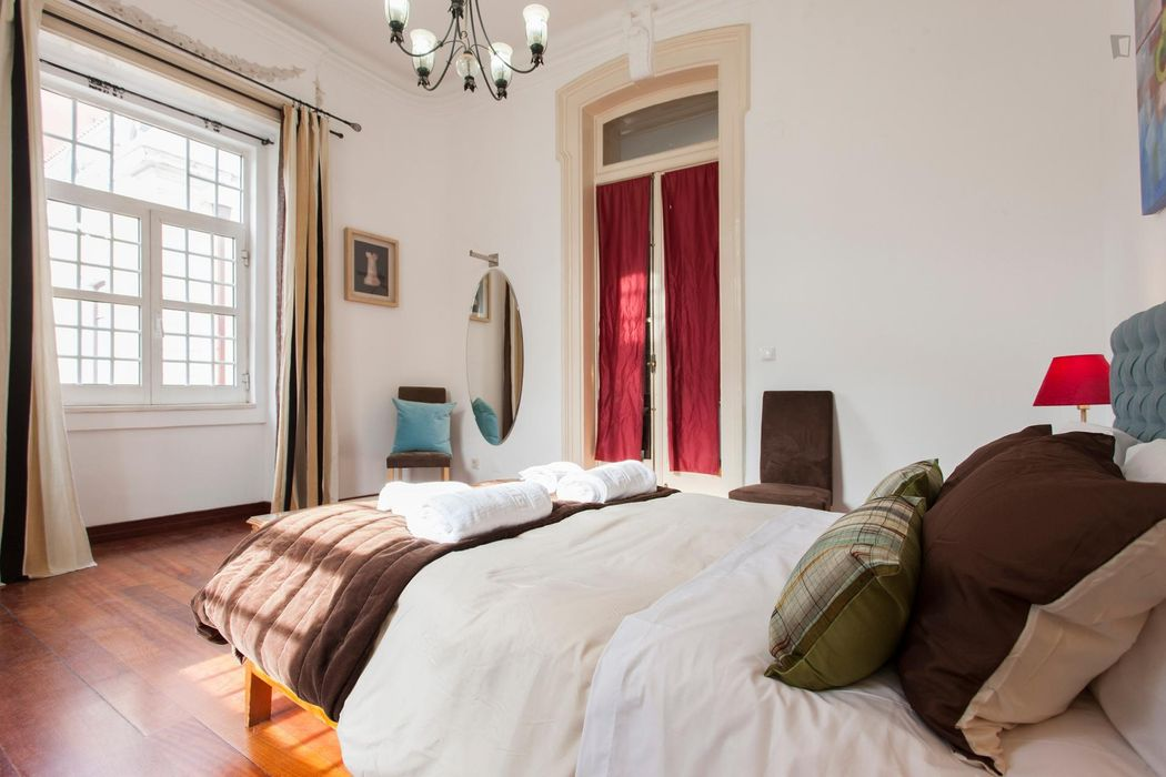 Selection Flat in Historic Manor, Downtown Lisboa