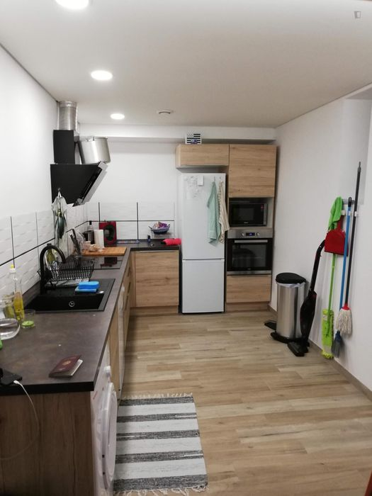 Double bedroom in 1-bedroom apartment
