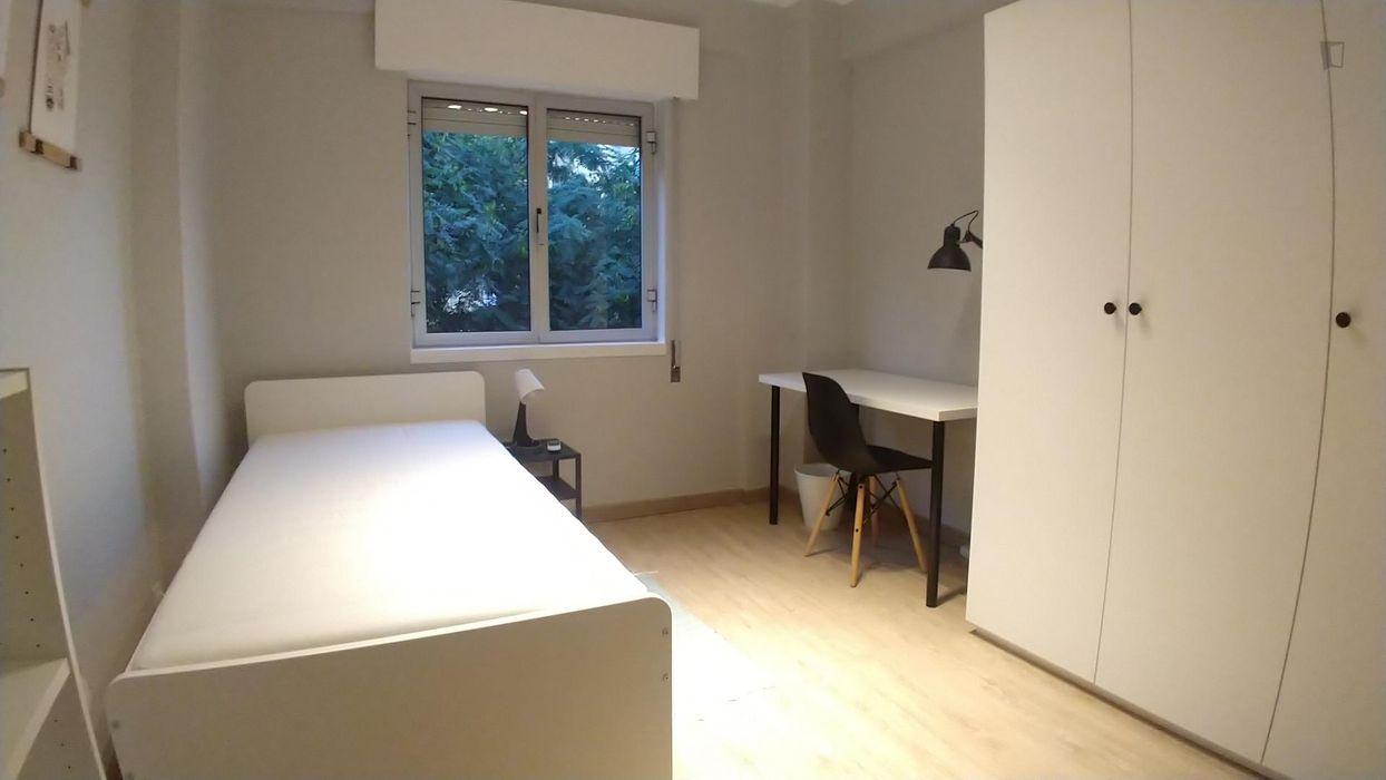Beatiful bedroom in 4-bedroom apartment
