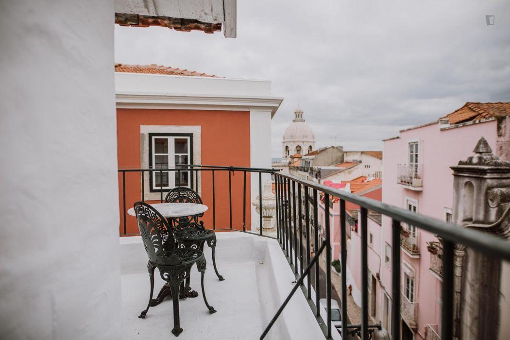 1-Bedroom Apartment and Balcony/Speed Wifi