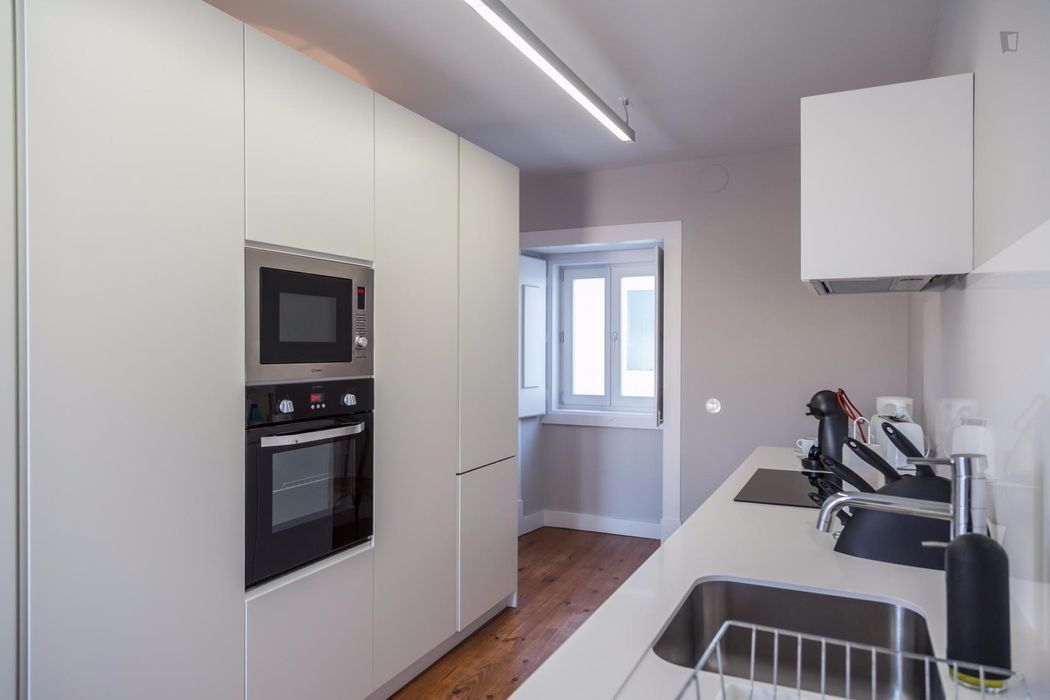Elegant 1-bedroom apartment in São Bento