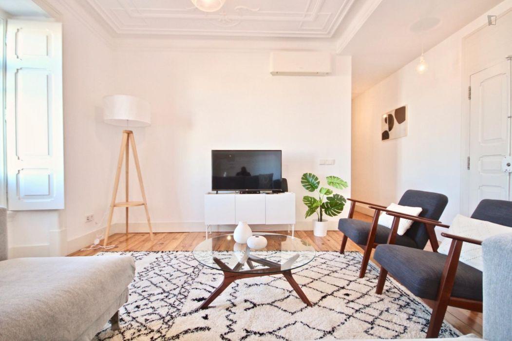 Luminous 3-bedroom Apartment in Amoreiras