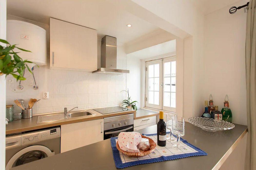 1-Bedroom apartment near ISEG - Instituto Superior de Economia e Gestão da Universidade de Lisboa