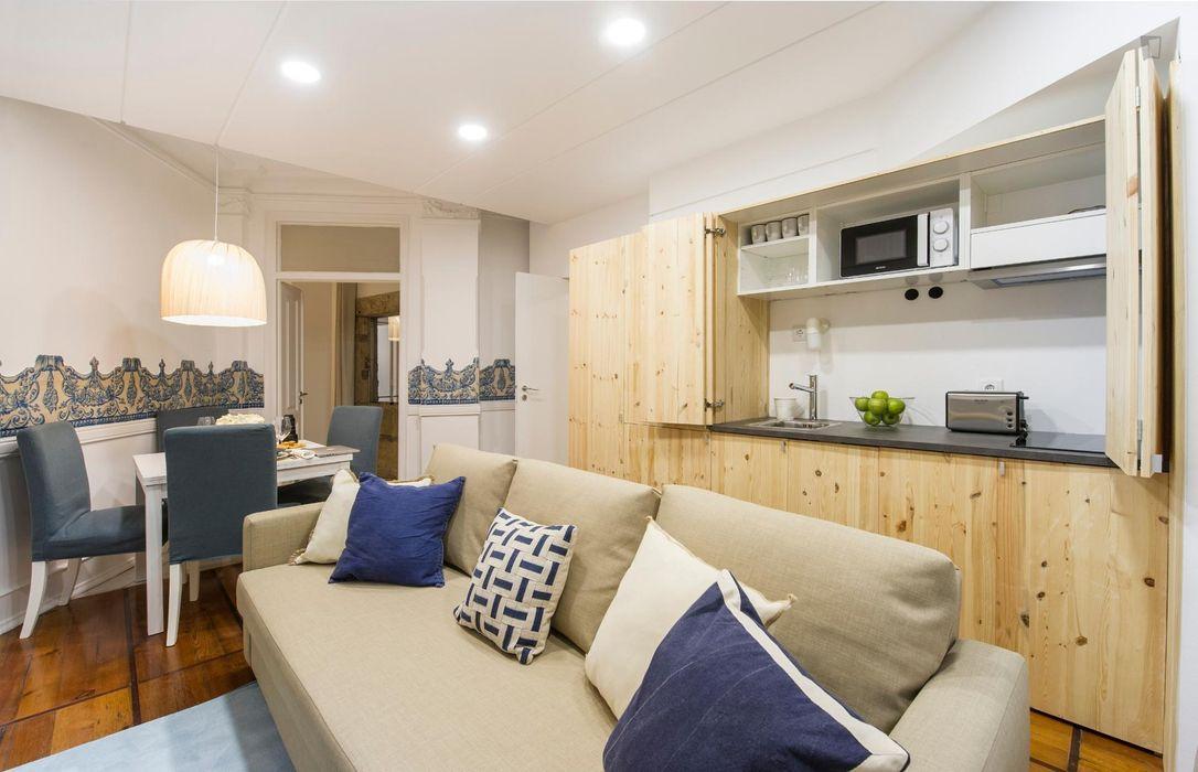 Perfect for students! Basement Apartment for 2 near Estrela Garden, ISEG