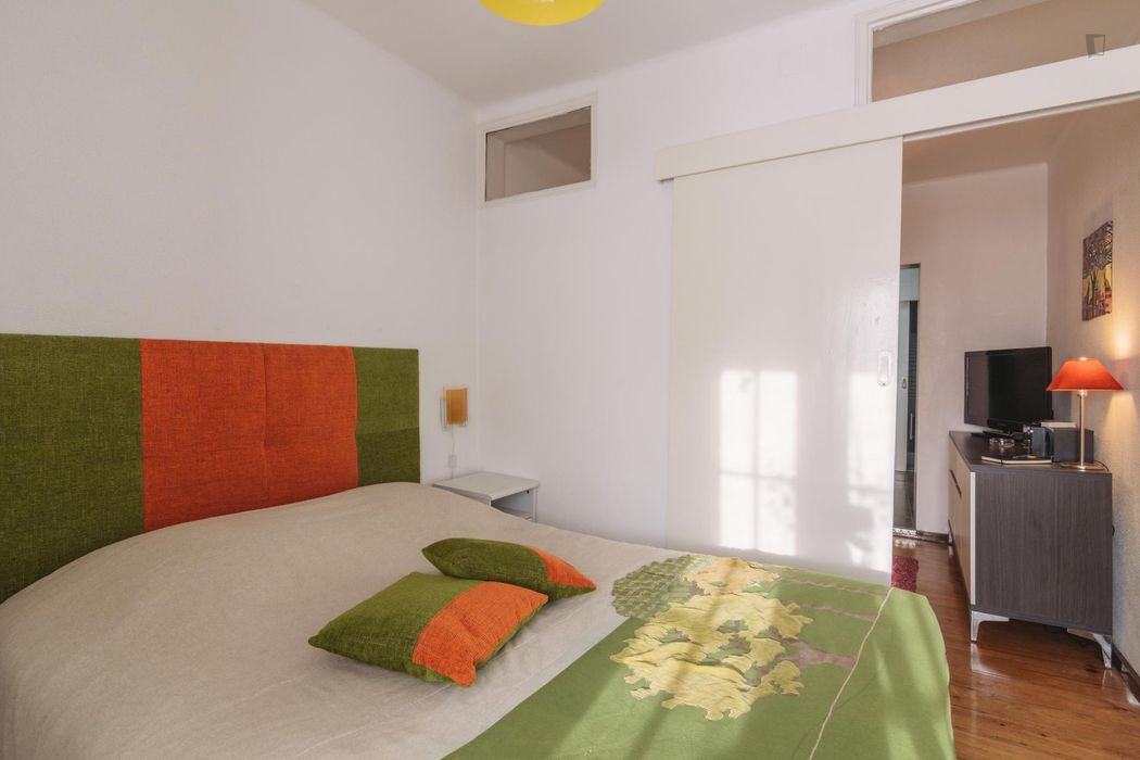Apartment Center of Lisbon, WiFi, AC, 1 Bedroom