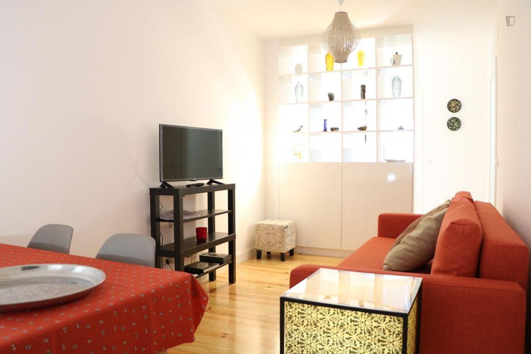 Fabulous 1 bedroom apartment w/ terrace near Castelo São Jorge