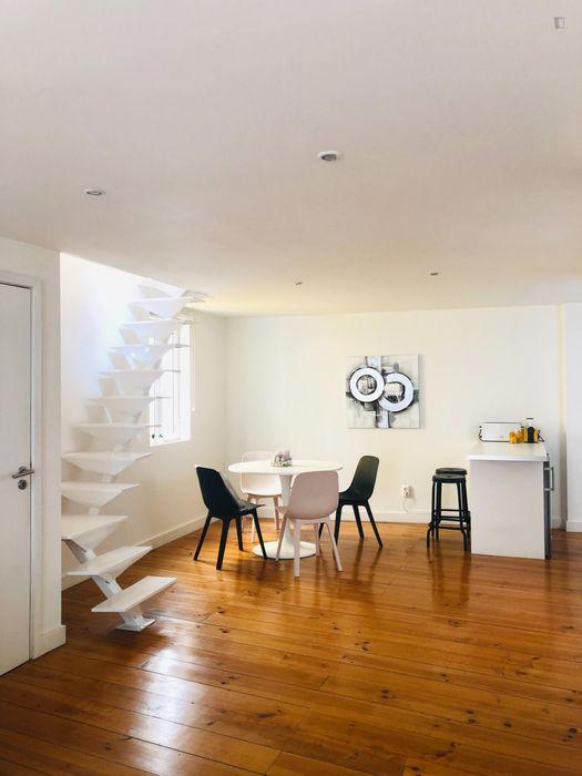 1-Bedroom apartment near Baixa-Chiado metro station