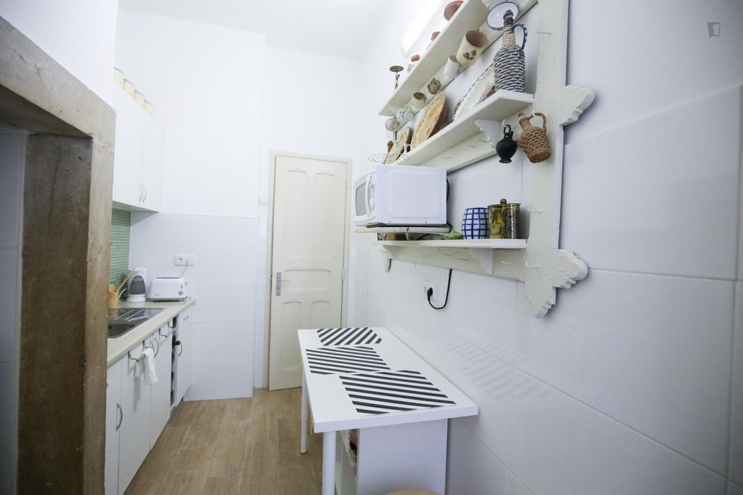 Single bedroom in Alcântara, near Universidade Lusíada de Lisboa