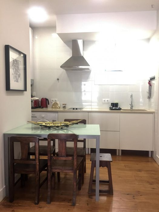 Admirable 3-bedroom flat in the downtown of Lisbon