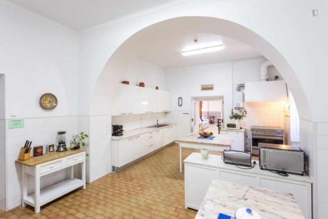 Single bedroom in residence