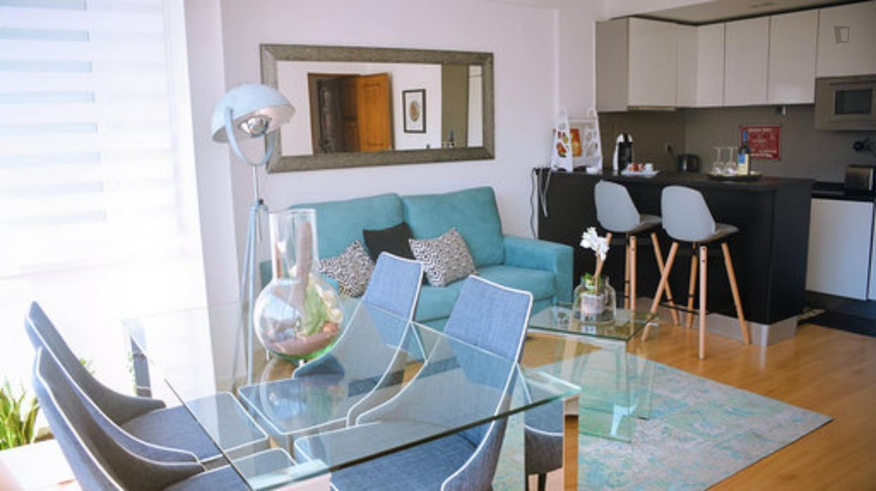 Modern 2-bedroom apartment, well-located near metro Arroios