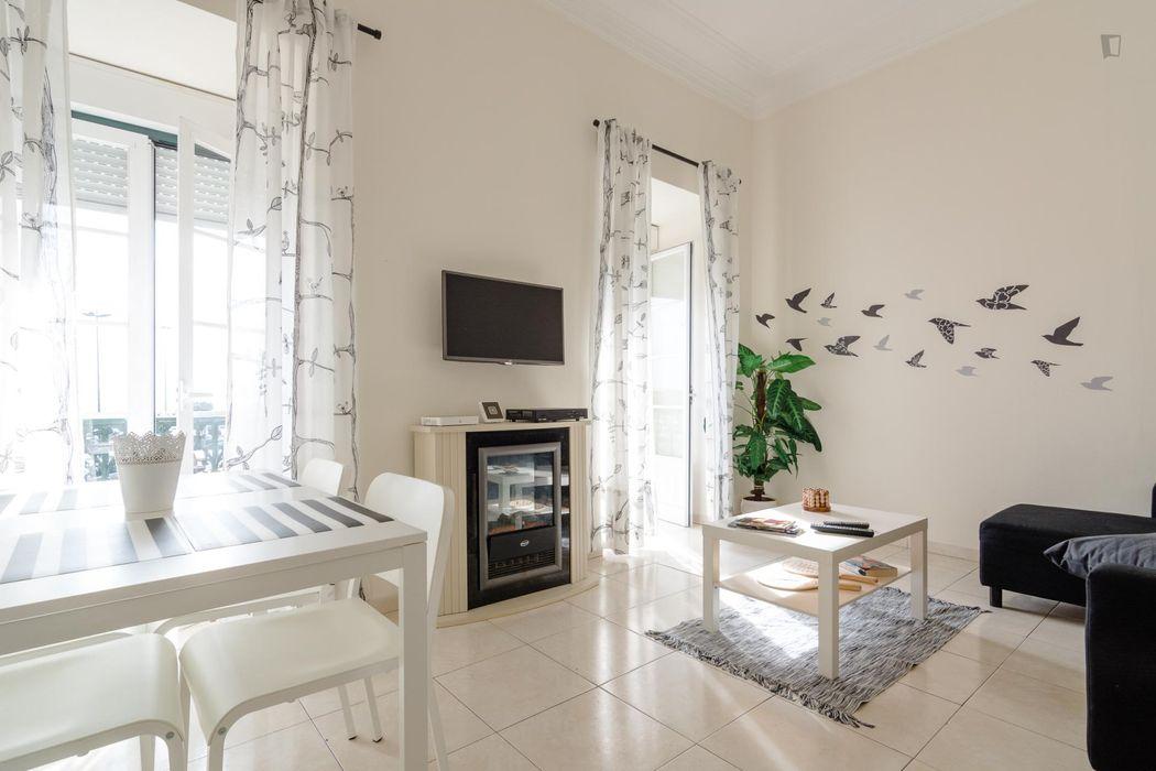 Perfect 2-bedroom flat in Santa Aplónia