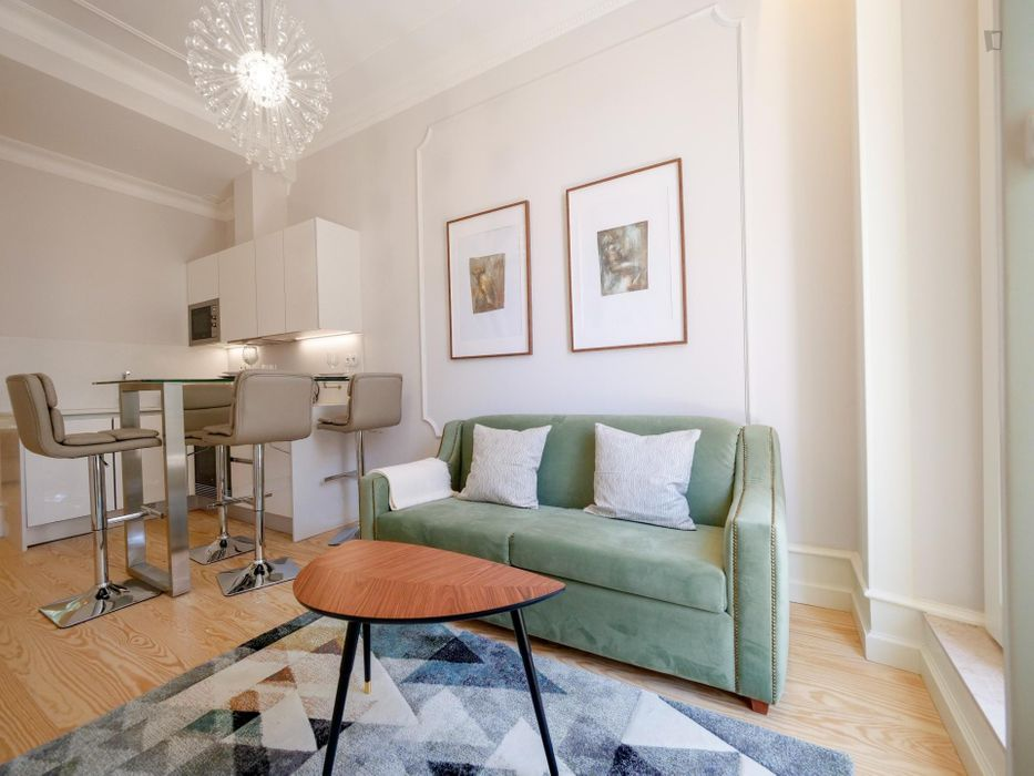 2-Bedroom apartment in the downtown of Lisbon
