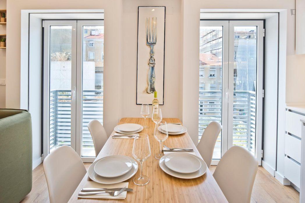 Lavish 1-bedroom flat in Alcântara