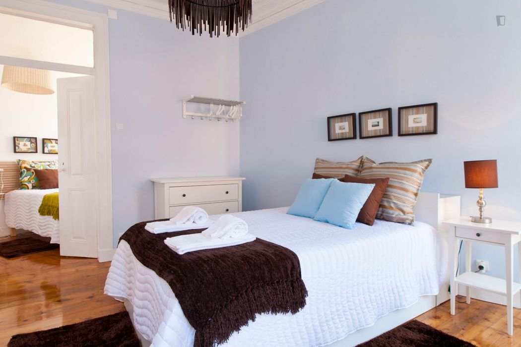 7-Bedroom apartment near Jardim Botânico de Lisboa