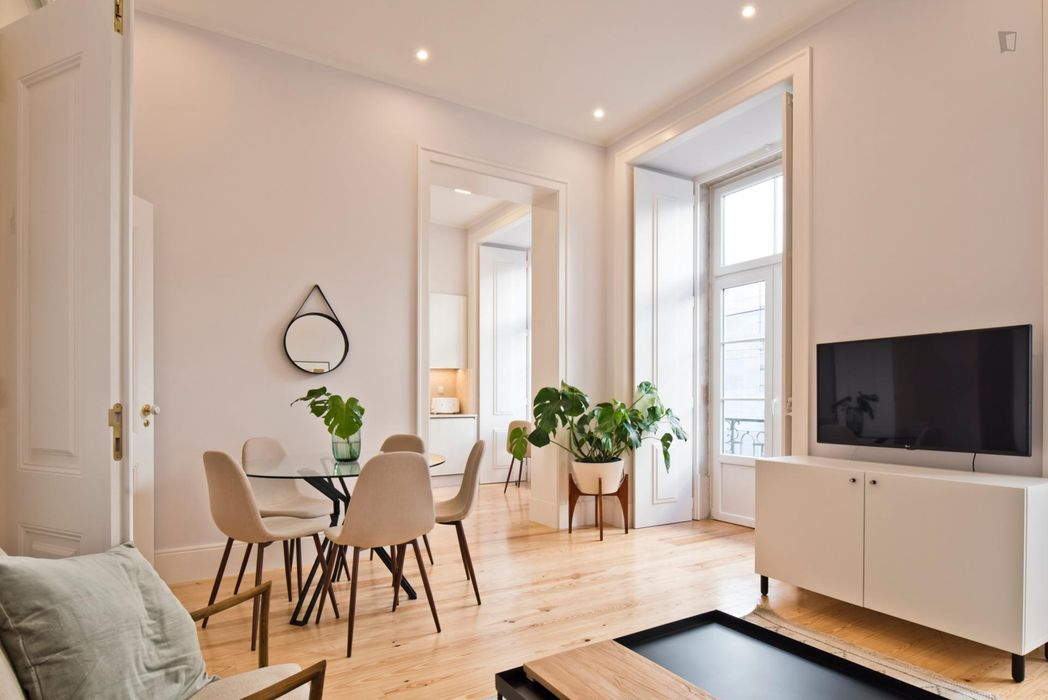 2-Bedroom apartment in Baixa-Chiado metro station
