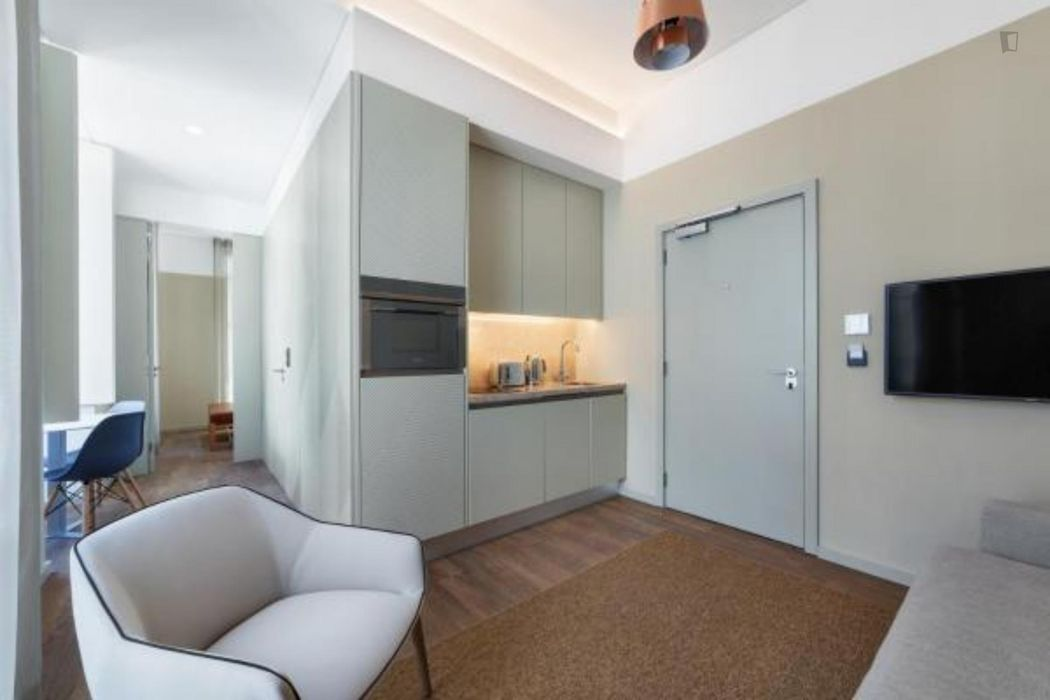 One-bedroom apartment in the heart of Lisbon