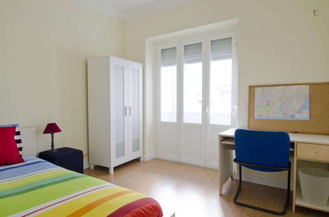 Grand double bedroom near UAL - Universidade Autónoma de Lisboa