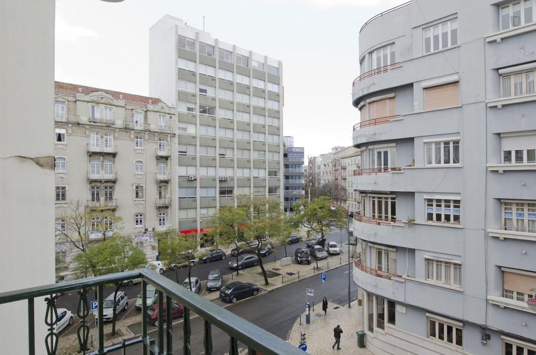 Relaxing single bedroom in Saldanha, Instituto Superior de Contabilidade e Administração de Lisboa