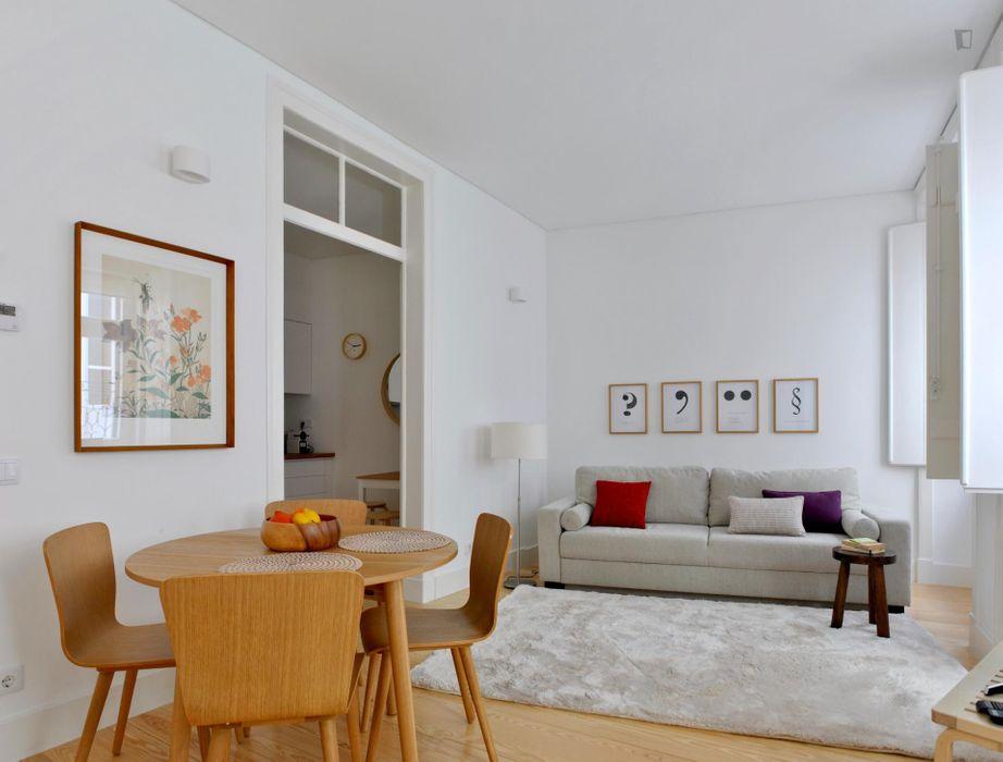 Alfama Bright 1 Bedroom Apartment near Campo das Cebolas