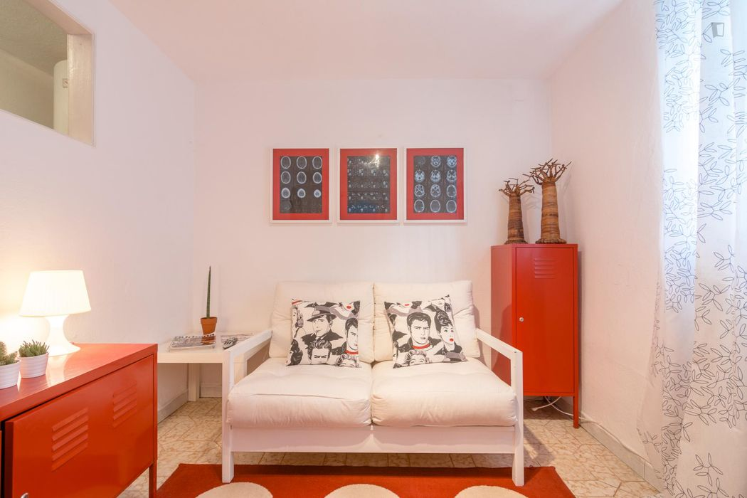 Cool 1-bedroom flat in typical Alto da Ajuda