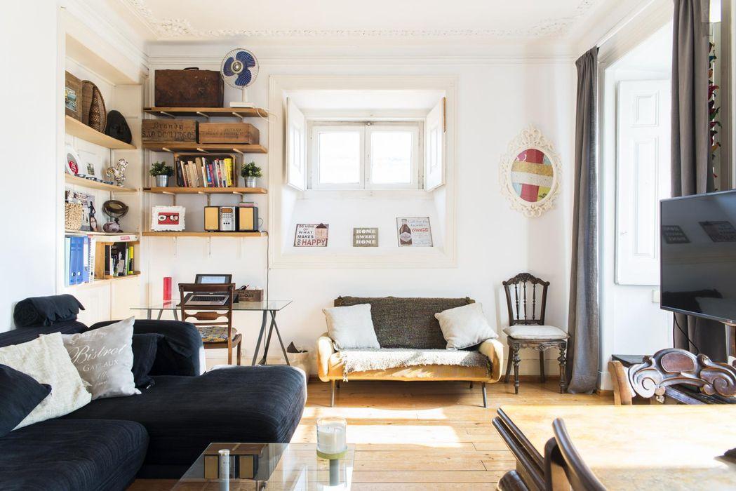 Bright Cosy 1-bedroom flat near Universidade Aberta