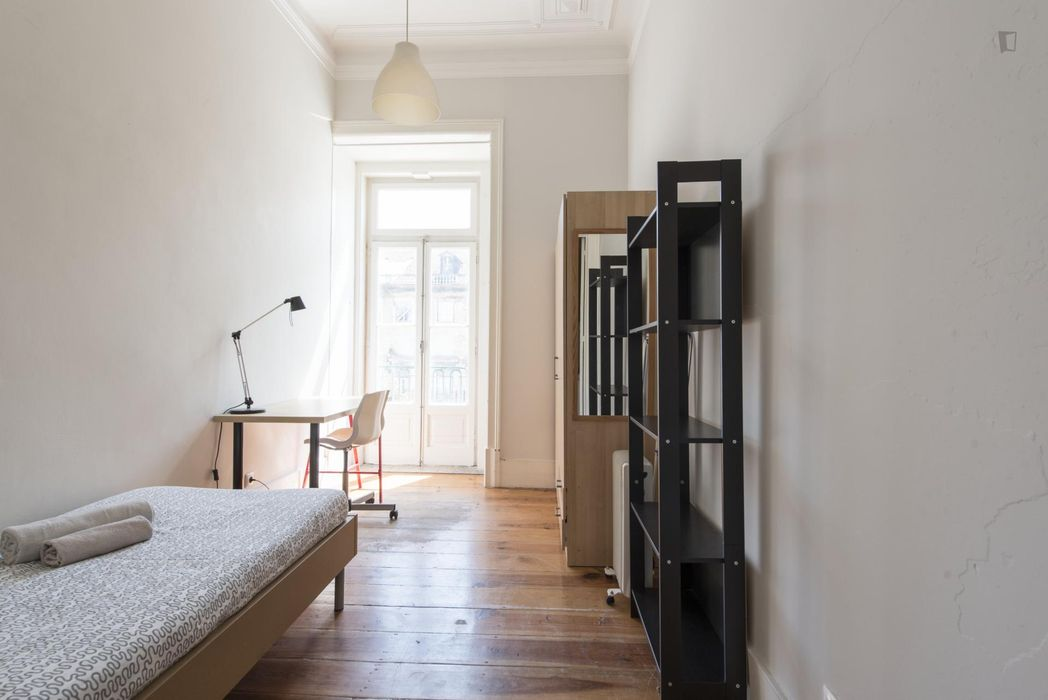 Single ensuite bedroom in student residence
