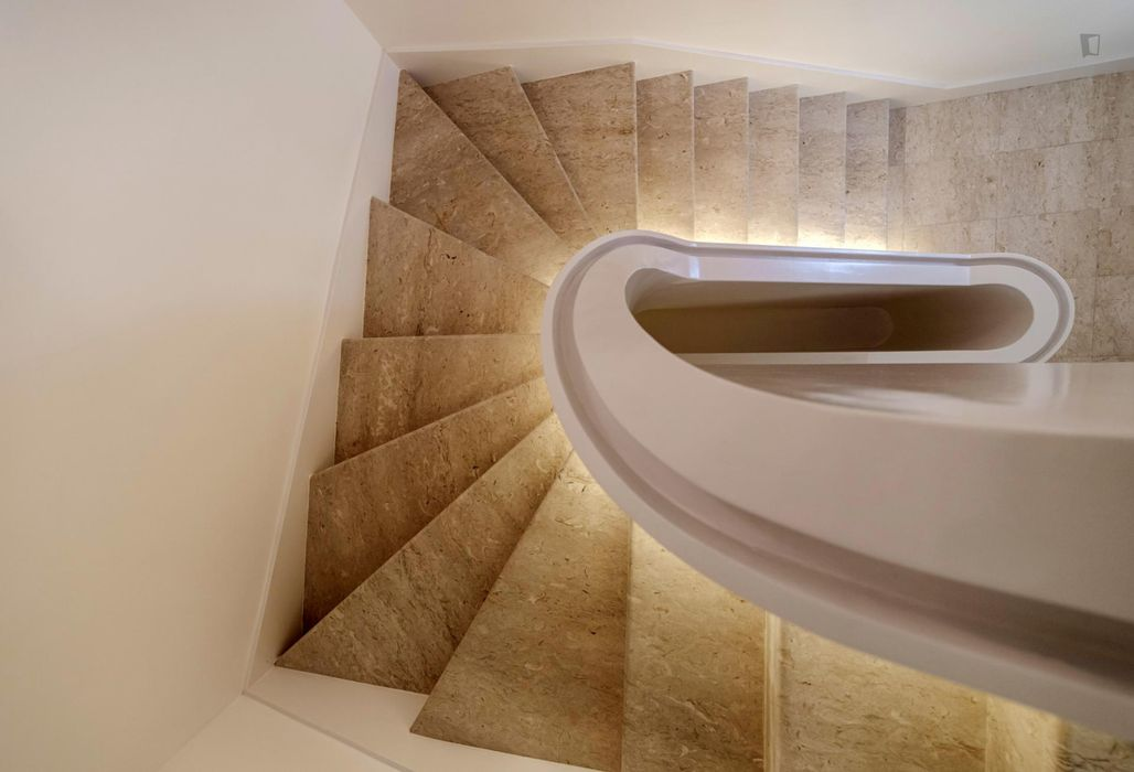 Modern design serviced Studio near Chiado
