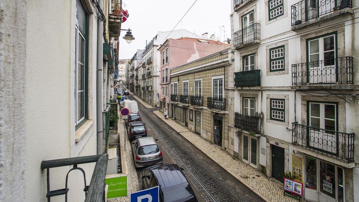 Double bedroom with no window in a 4-bedroom flat in Santos