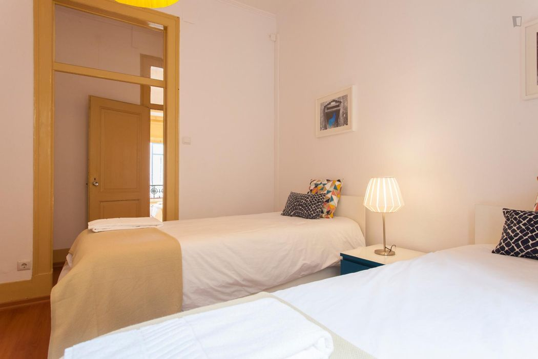 3-Bedroom Apt in the center of Lisbon Donwtown